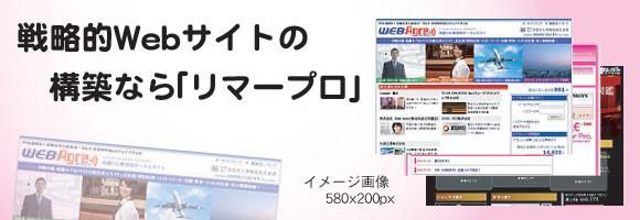 ホームページ制作とデザインの「リマープロ」。