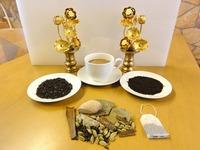 """<div style=""""font-size:x-small;"""">85,rich assam tea アッサムティー(100g) 1,300円  86,indian masala mix tea マサラティー(100g) 1,300円</div>"""