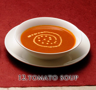 "<div style=""font-size:x-small;"">12,tomato soup トマト スープ 400円