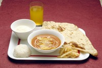 """<div style=""""font-size:x-small;"""">CHILD SET お子様セット 700円 ONE CHOICE OF CURRY, SMALL NAAN, RICE, SNACK, DESSERT, DRINK お好きなカレー1つ・ナン(小)・ライス・スナック・デザート・ドリンク付</div>"""