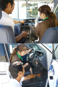 初心運転者教習、仮免許教習もしっかり指導します!