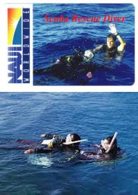スクーバーダイバーレスキュー 2日間 ¥36,800-(別途申請料)  ダイビングの事故予防と、事故が起った場合に効果的処理に必要な知識と技術を取得できます。 ダイビングを続けるには必須のスキルだと思います。