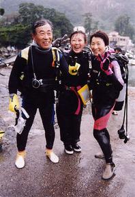 50歳からのダイビング