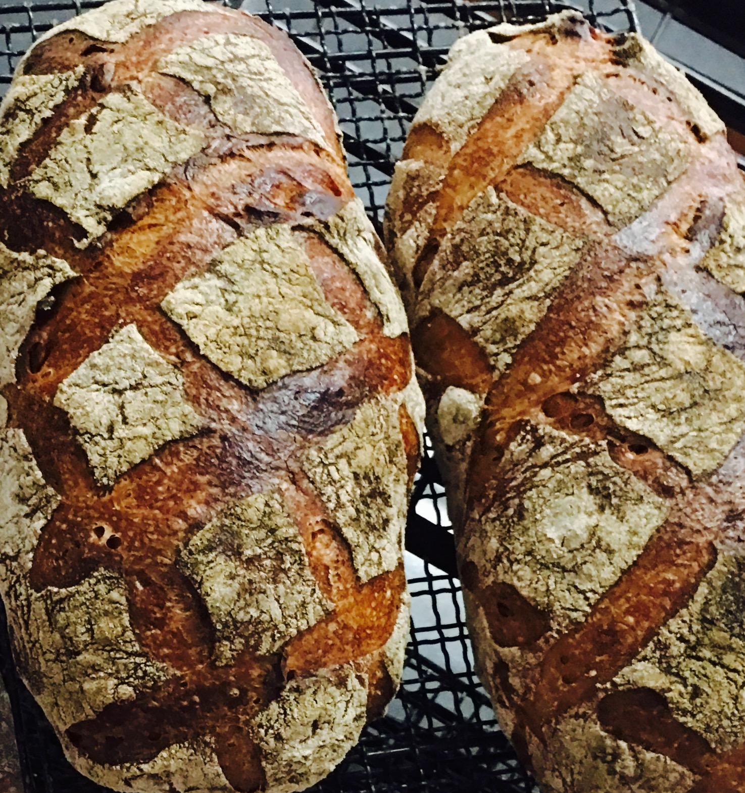 ライ麦とフルーツ・ハードパン