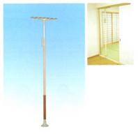 居室内で使用する縦型手すりで、歩行や立ち上がり、回転動作を補助・支援。