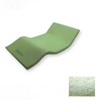 優れた体圧分散性でありながら、正反発力により楽に寝返りができるマットレス。