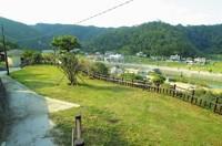 """琉歌""""安波節""""の中で歌われているマハンタを公園整備した場所です。 周辺を山に囲まれた人口200人ほどの安波の集落を見渡せる憩いの場です。"""