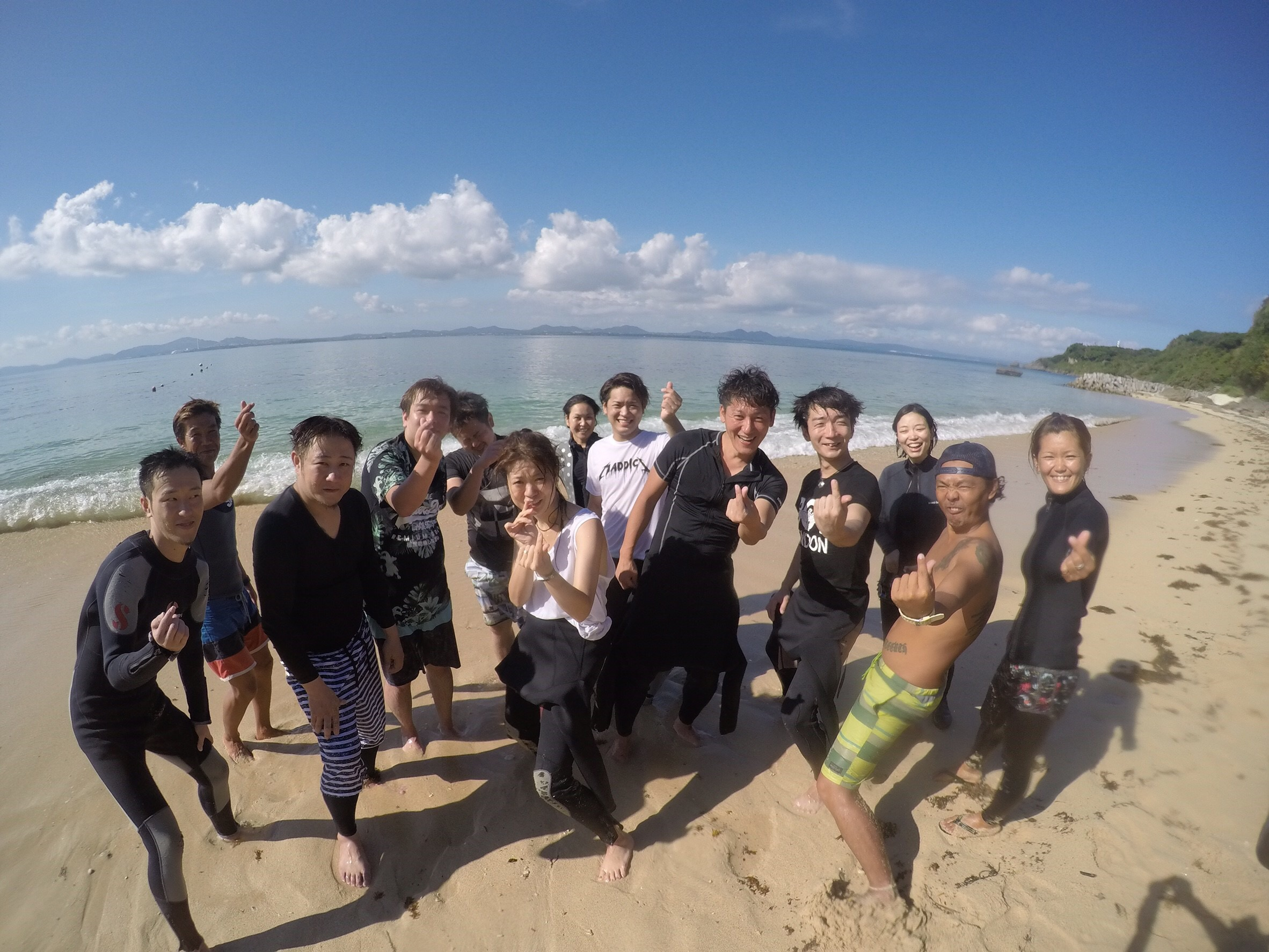 沖繩大泊ビーチ体験ダイビング¥9800