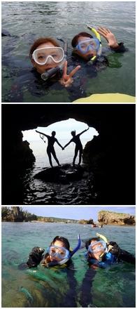 "<b style=""color:black;font-size:18px;"">お1人様 5000円</b> <b style=""color:red;font-size:25px;"">→3000円</b>   <strong>青の洞窟以外でのシュノーケル。 青の洞窟は行ったことあるから他のポイントで シュノーケルしたい方にオススメです。 また違った沖縄の魅力や青の洞窟にない サンゴ礁の群生や場所によって干潮の時にしか 入れないシークレット洞窟がある ポイントもあります☆<strong>  <div style=""border:1px solid blue;width:130px;color:white;font-weight:bold;padding:5px;"" align=""center""><A HREF=""http://simple2011.okinawa/osusume.html?1440066981"" target=""_blank"" style=""color: red;font-size:16px;""></b><strong>シュノーケル詳細<strong></A></div>  <div style=""border:1px solid blue;width:130px;color:white;font-weight:bold;padding:5px;"" align=""center""><A HREF=""https://direct.satsukisan.jp/direct/plan/calendar/pln3000014688/"" target=""_blank"" style=""color: orange;font-size:16px;""></b><strong>お申込みはコチラ<strong></A></div>"
