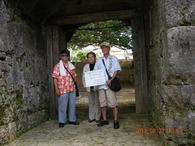 崇元寺石門調査① 2011/8/21