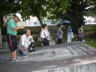 泊外人墓地調査② 2011/9/19