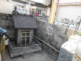 (2) 寄宿舎の井戸跡