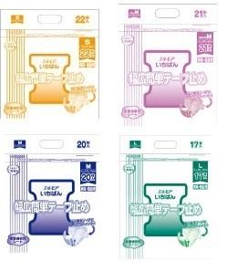 いちばん幅広簡単テープ止め S・細めM・M・L ¥1,330