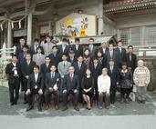 普天満神宮で初詣、みんな今年の目標をきめて 参拝してきました。
