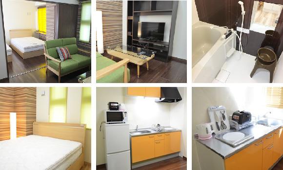 テラスリゾート8は、沖縄県宜野湾市真志喜にあるウィークリー・マンスリーマンションです。格安レンタカーセットプランもございます。
