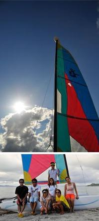 """プログラム内容 ヨットスクールに使用する艇はホビーキャット13f~16fでビーチからのエントリーが容易にできます。ご家族、ご友人とヨットの操船を楽しんだり、プライベートスクールでしっかりと操縦のレッスンをしたり、ヨットの楽しさにチャレンジしてください。  料 金:  1名様につき3,500円(税込) 所要時間  60分 時間帯: 10:00 / 14:00 / 16:00 開催場所   宜野座村漢那ビーチ/マップでご確認ください。 中止の決定 雷雨又は海洋状況によっては、中止する場合がございます。中止の際は、開始1時間前までにご連絡いたします。   用意する物:  以下の物をご用意ください。濡れてもいい服装でお越しください。  ・ タオル ・ 日焼け止め ・ お飲み物(水等) ・ 料金 <span style=""""color:red; font-weight:bold;"""">※現在準備中</span>  <div align=""""right""""><a href=""""#""""><strong>ページ上に戻る</strong></a></div>"""