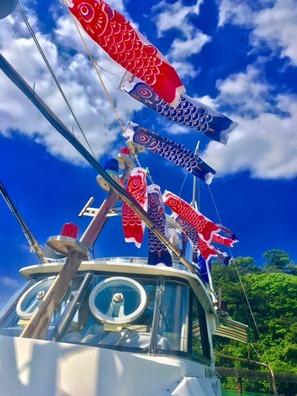 沖縄の釣り船≪半日≫釣舟・沖釣りツアー!!