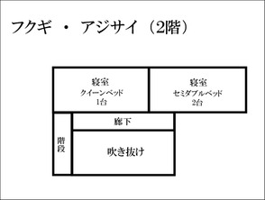 フクギ・アジサイ2階