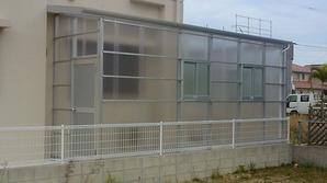 アルミ倉庫シルバータイプ