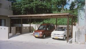 1台用はもちろん2台用、3台用、 大きな駐車スペースでも、 自信を持ってお勧めします。