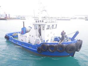 船種・用途:作業船兼引船 規格:19トン、沿海区域