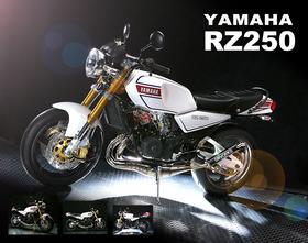 S様 RZ250 フルカスタム