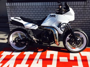 TDR250 フルカスタム