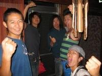 【第2期ボーダー】 和太鼓集団「yamato」! 台風の影響もあって、ずっと一緒にいたな~ 頑張ってるかい!?