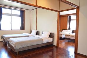 2.シングルベッドルーム 2台