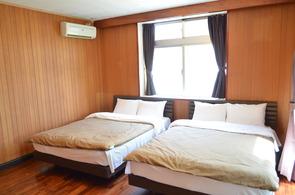 3.ダブルベッドルーム 2台