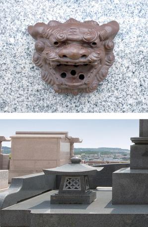 悠久識名墓苑のお墓の特徴②
