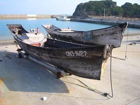 昔の海人船