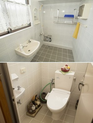 お風呂場&トイレ