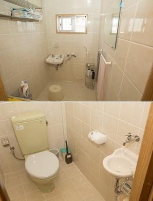 別館お風呂場&トイレ