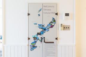 沖縄本島の地図