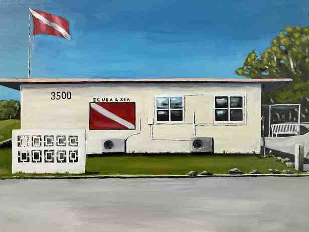 沖縄の風景画アーティスト