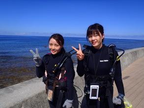 体験ダイビングに挑戦