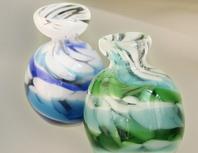琉球ガラスの骨壷