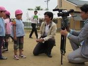 茨城新聞で取材に来て頂きました。 インタビューされている場面です(^◇^)