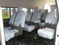 ジャンボタクシーならではのゆったり座席スペースで、快適な観光案内をご提供します。観光以外の送迎(ゴルフ、結婚式等)もOKです。
