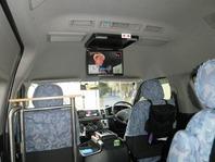 車内TV設置