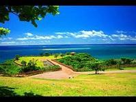 岬先端にある公園から眺める海はとてもきれいで、景色と心地よい海風に癒されます。