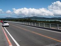 これまた隠れた観光スポット!ワルミ大橋(車で10分) 高所から望む景色は最高です。