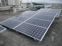 190w×54枚 10.26kw うるま市石川太陽光発電工事