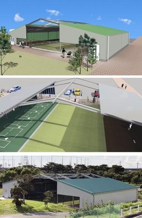 ②.沖縄市投球練習場改築工事