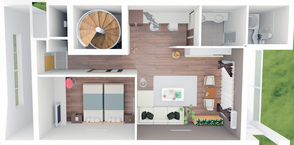 金武町にて賃貸マンションの建設 広々とした2LDK。29年1月完成予定