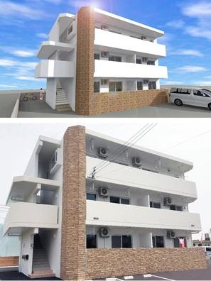 ②.T氏住宅兼MS新築工事(中城村)