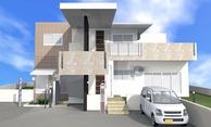 ①.Y氏2世帯住宅兼美容室新築工事(金武町)