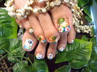 フットケア(A+B+アート込み)¥3,990
